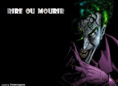 Wallpapers Comics Rire ou mourir