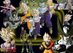Fonds d'écran Manga gohan-cell
