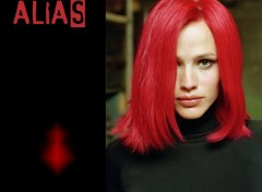 Wallpapers TV Soaps Alias Red