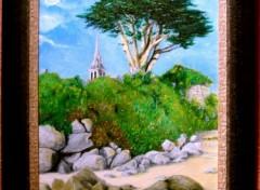 Fonds d'écran Art - Peinture Île de BATZ