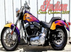 Wallpapers Motorbikes Scoot Custom 2001