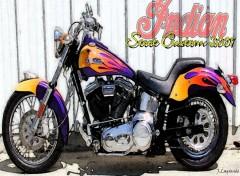 Fonds d'écran Motos Scoot Custom 2001