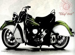 Wallpapers Motorbikes Chief 1946