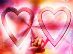 Fonds d'écran Art - Numérique coeur