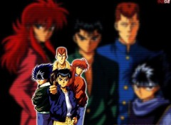 Fonds d'écran Manga Ruthay Yuyu Hakusho 01