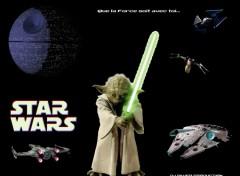 Fonds d'écran Cinéma Yoda