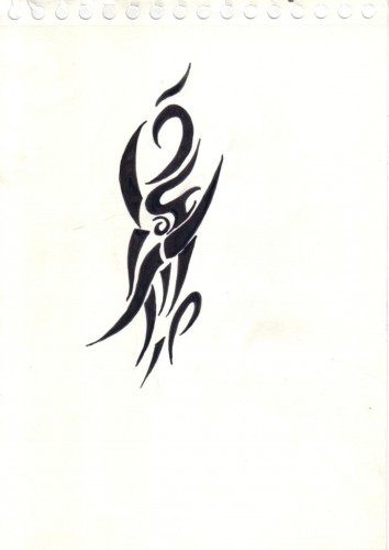 Fonds d'écran Art - Crayon Tatouages tribal