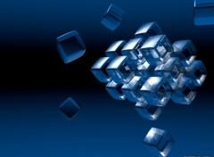 Fonds d'écran Art - Numérique Cube