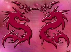 Fonds d'écran Art - Numérique Les dragons