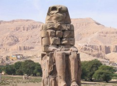 Wallpapers Trips : Africa Colosse de Memnon