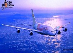 Fonds d'écran Avions A380 HEBUSIEN