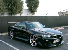 Wallpapers Cars Nissan Skyline R34 GT-R