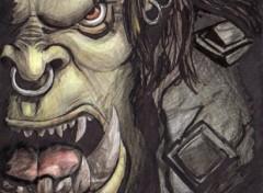 Fonds d'écran Art - Crayon Warcraft III