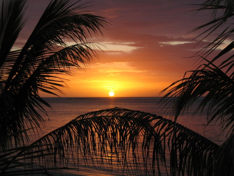 Wallpapers Trips : Africa Mauritius Couché de soleil à Maurice 2