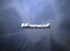 Fonds d'écran Informatique Microsoft Platinium