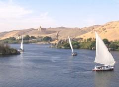 Wallpapers Trips : Africa Felouques sur le Nil à Assouan.