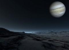 Fonds d'écran Espace Vue sur Jupiter