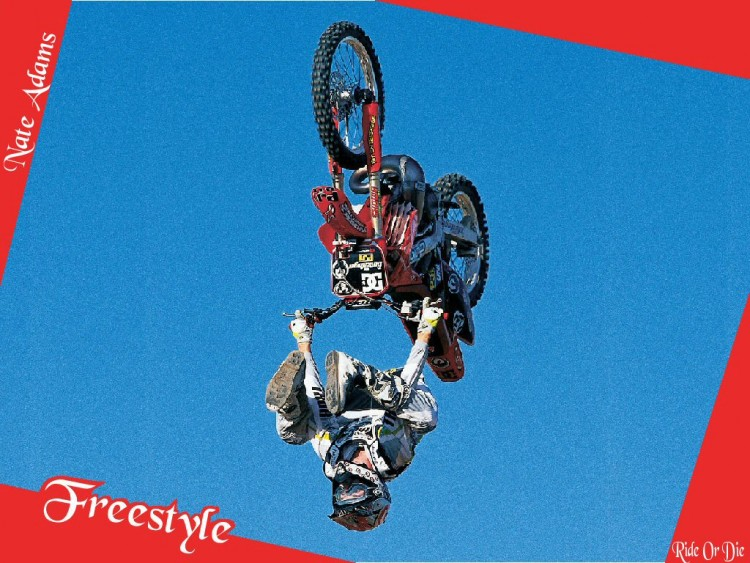 Fonds d'écran Motos Motocross FMX3