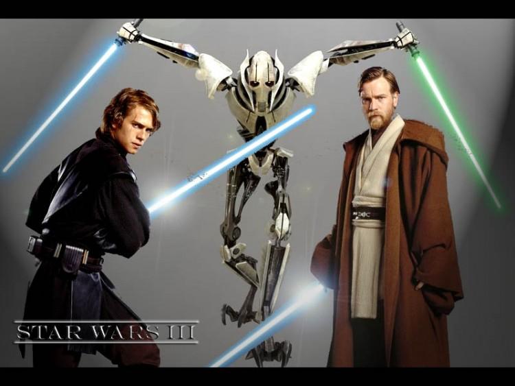 Fonds d'écran Cinéma Star Wars III - La Revanche des Sith La revanche des Sith!!