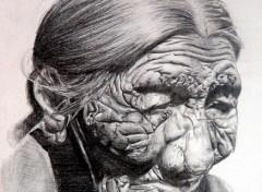 Wallpapers Art - Pencil vieille cheyenne