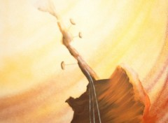 Fonds d'écran Art - Peinture guitare