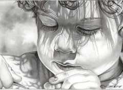 Fonds d'écran Art - Crayon The kid