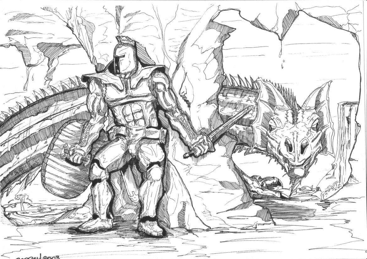 Fonds d'écran Art - Crayon Fantasy - Illustrations Sans issus.