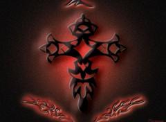 Wallpapers Digital Art Tribal Cross