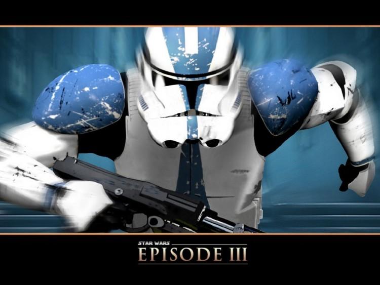 Fonds d'écran Cinéma Star Wars III - La Revanche des Sith clone promo