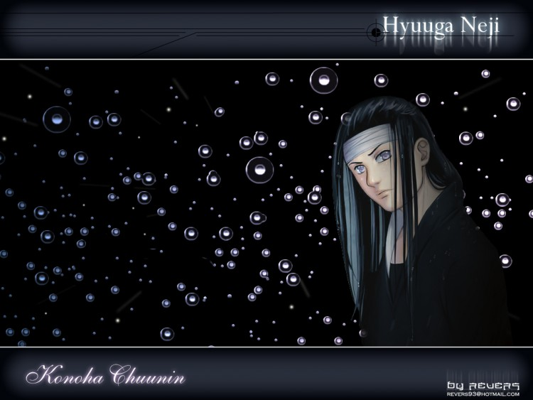 Fonds d'écran Manga Naruto Hyuuga Neji