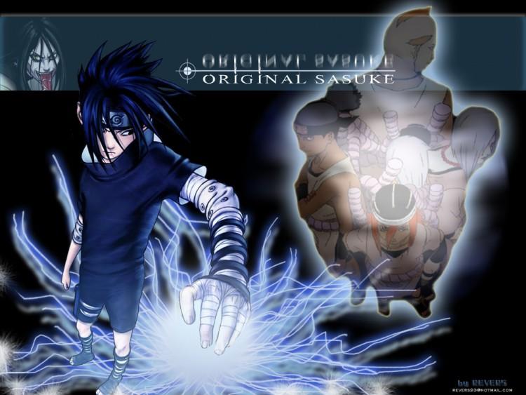 Fonds d'écran Manga Naruto Original_Sasuke