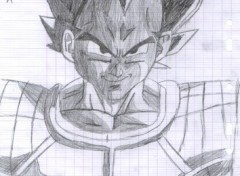 Fonds d'écran Art - Crayon vegeta