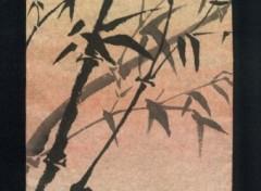 Fonds d'écran Art - Peinture Bambous