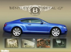 Fonds d'écran Voitures BENTLEY CONTINENTAL
