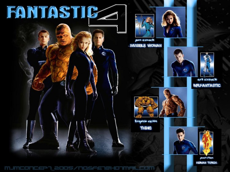 Wallpapers Movies The Fantastic Four Fantastic 4 the movie!