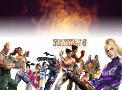 Wallpapers Video Games TEKKEN 5 personnages