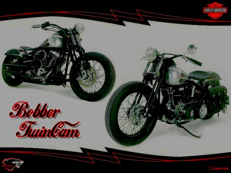 Wallpapers Motorbikes Wallpapers Harley Davidson Bobber