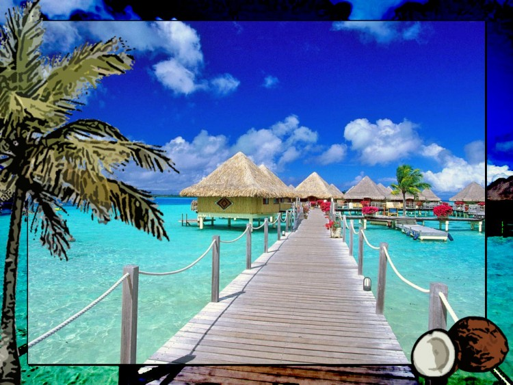Wallpapers Nature Paradisiac Islands vacances - les iles...