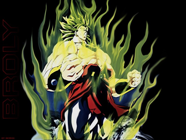 Fonds d'écran Manga Dragon Ball Z Broly !