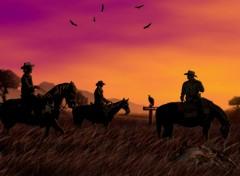 Wallpapers Digital Art cowboy