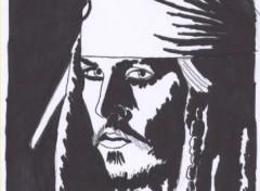 Fonds d'écran Art - Crayon Pirates des caraibes