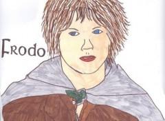 Fonds d'écran Art - Crayon Frodo Baggins