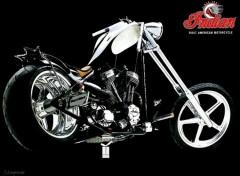 Fonds d'écran Motos Indian Chopper