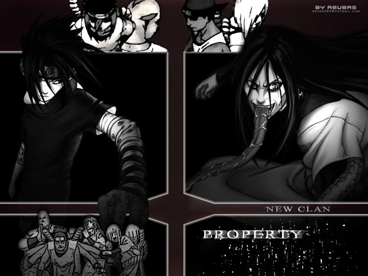 Fonds d'écran Manga Naruto Property Clan