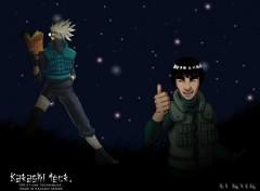 Fonds d'écran Manga Kakashi Teck