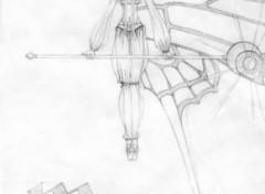 Fonds d'écran Art - Crayon Moon Fairy