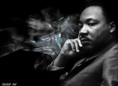 Wallpapers Digital Art martin luther king