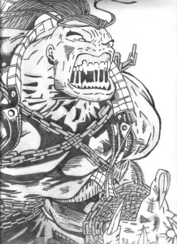 Fonds d'écran Art - Crayon BDs - Comics pitt