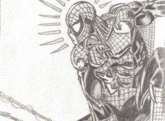 Fonds d'écran Art - Crayon spidey