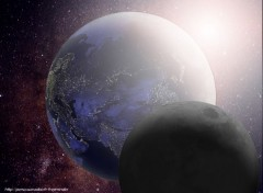 Wallpapers Space Shining Earth